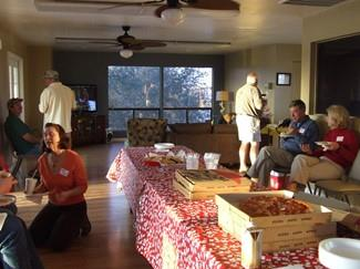 2011 February - Pizza Party