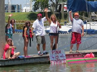 2015 August - 6th Annual Cardboard Boat Race