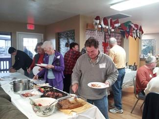 2015 January - New Year's Day Potluck