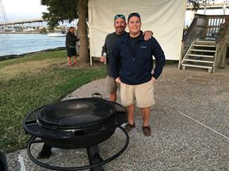 November 2016 Fire Pit for the marina.